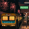Train station icon/pixelart