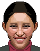 Chinese Woman icon/pixelart