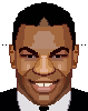 Mike Tyson Pixel Art Drawing icon/pixelart