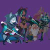 Fanart AKF Arena characters 4 icon/pixelart