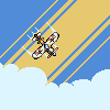 Sky High! icon/pixelart