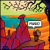 Album Cover #1 icon/pixelart