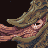 Ammonite icon/pixelart