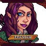Upper Body Portrait of Main Character for SRPG Project icon/pixelart