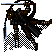 64x64 RPG Assassin Rat icon/pixelart