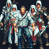 Assassins Creed Fan art icon/pixelart