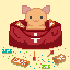 The right medicine for a bad day icon/pixelart