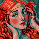 W.T. Benda icon/pixelart