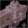 Black ship icon/pixelart