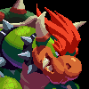 Bowser - Super Mario World icon/pixelart