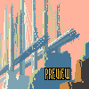 Trans-Ocean Bridge icon/pixelart