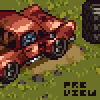 Rusty Pickup icon/pixelart
