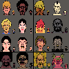 Some RPG characters I've been working on for fun