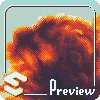 Clouds icon/pixelart