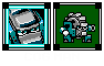 Cog Man Weekly Challenge Mega Man 2 Boss icon/pixelart