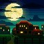 Country Side  icon/pixelart