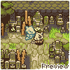 Graveyard by the Temple icon/pixelart