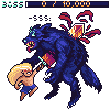 Werewolf Boss icon/pixelart