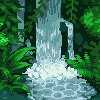 Deep Jungle icon/pixelart