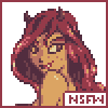 Demon girl icon/pixelart