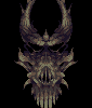 Demon Skull icon/pixelart
