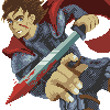 Fighter icon/pixelart