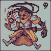 Fallen Knightess icon/pixelart