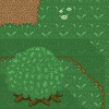 Forest Topdown Environment icon/pixelart