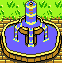 Fountain icon/pixelart