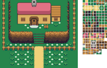 Tile Set - Kakariko-ish