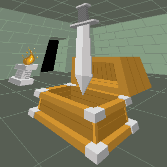 Sword and Chest - 3pt perspective