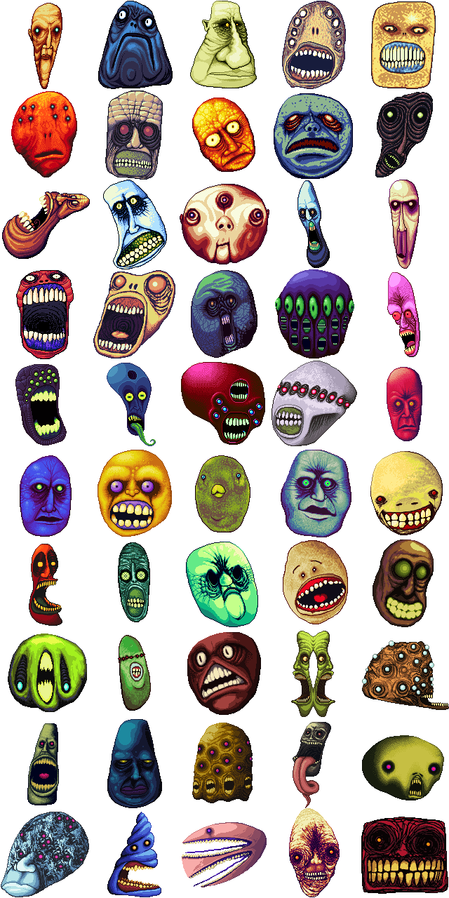 50 more faces