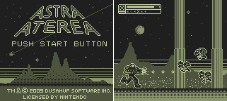 Astra Aetera - Game Boy Game