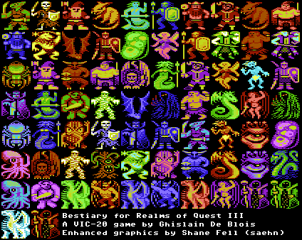 Realms of Quest III Bestiary