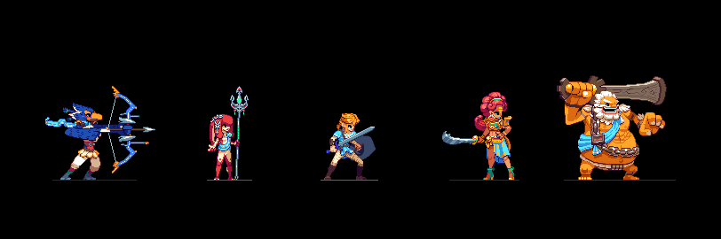 Breath of The Wild Sprites