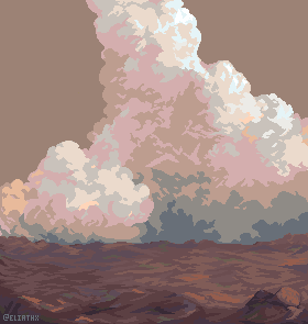 Clouds and colour practice