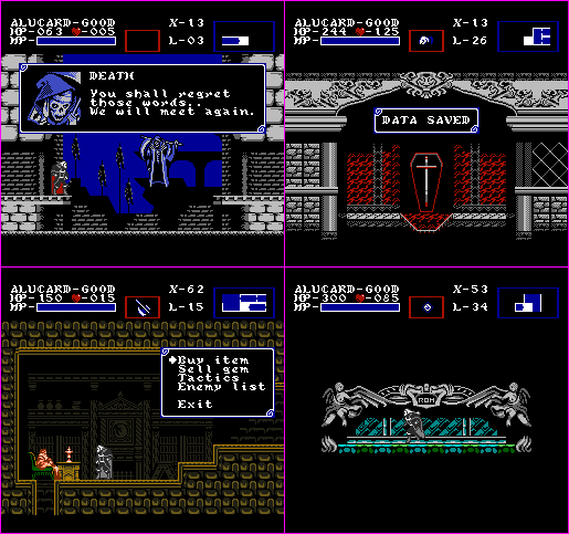 Castlevania: Symphony of the Night - NES Edition 2