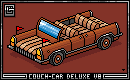 Couch-Car Deluxe V8