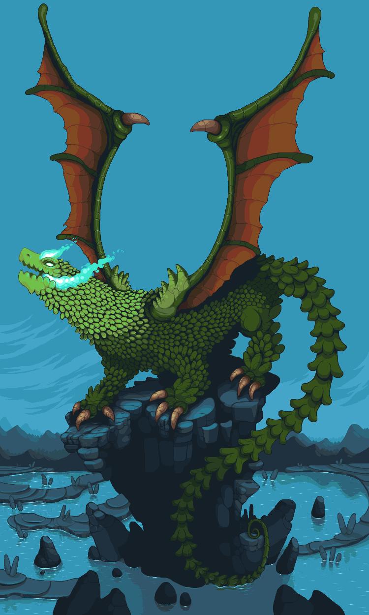 Crafty S Dragon Pixeljoint Com
