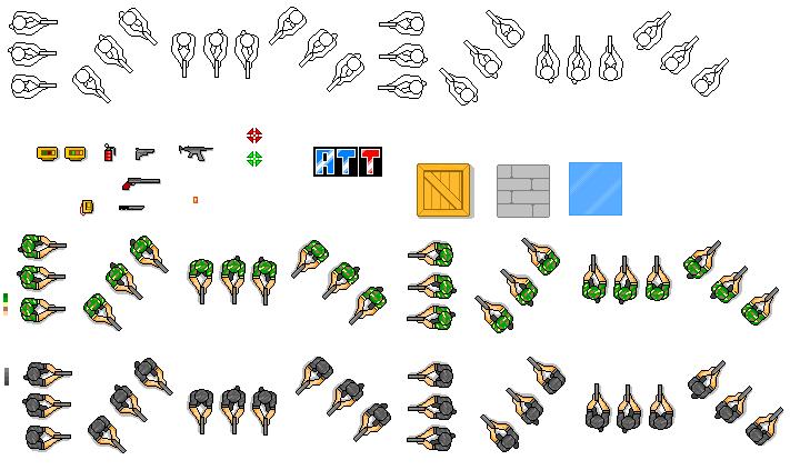 Top-Down Sprites Game Maker - Bing images