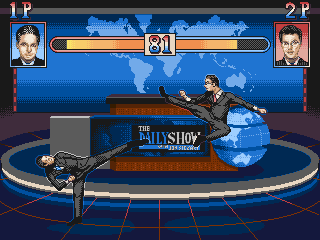 daily show fighting game