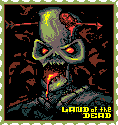 "Welcome to the ""Land of the dead"" ! pixel stamp"
