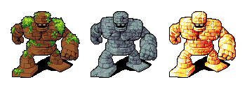 Dragon Quest Golems