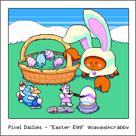 "Pixel Dailies - ""Easter Egg"""