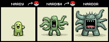 Nardy - Pokemon Evolution
