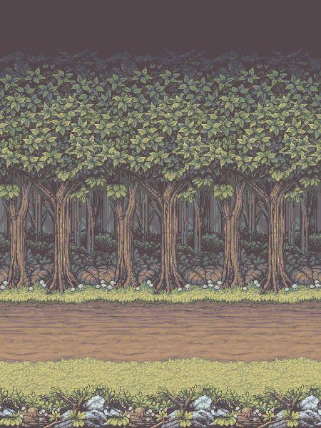 Old Forest Background