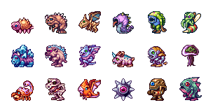18 Monsters