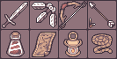 Various Adventure Items