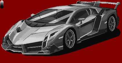 Lamborghini Veneno @ PixelJoint.com