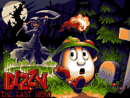 Dizzy: Last Hero title screen